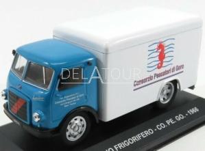 Fiat Leoncino Truck Frigorifero 1966 Blue