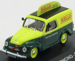 Fiat 500C Furgoncino Van Riello 1959 Green