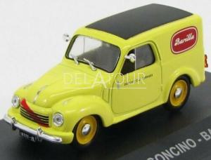 Fiat 500C Furgoncino Van Barila 1951 Yellow