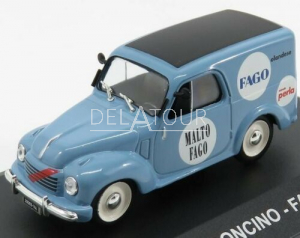 Fiat 500C Van Furgoncino Malto Fago 1950 Blue