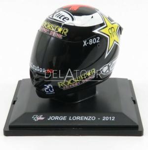 Jorge Lorenzo Helmet World Champion MotoGP 2012