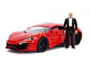 Lykan Hypersport Fast & Furious with Dom Figurine