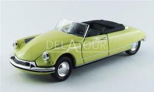 Citroen DS19 Cabriolet 1961 Yellow