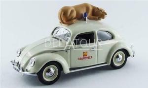 Volkswagen Beetle Shell Zoo Arhem Holland 1965