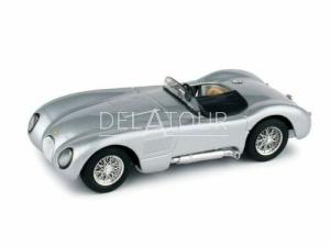 Jaguar C-Type Spider 1953 Silver