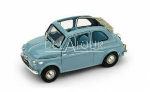 Fiat 500 Nuova Normale Aperta 1957 Light Blue