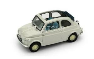 Fiat 500 Nuova Economica Aperta 1957 Light Grey