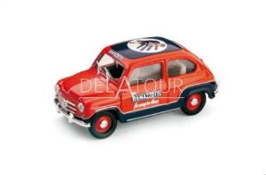 Fiat 600 D Commerciale Ramazzotti 1960 Red/Blue