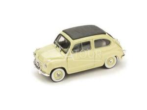 Fiat 600 Tetto Chiuso 1956 Beige