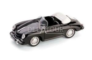 Porsche 356C Cabriolet 1952 Black