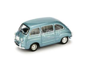 Fiat 600D Multipla Rai Radio 1960 Blue