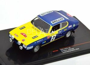 Ford Capri 2600 RS #2 Rally Baltic 1972