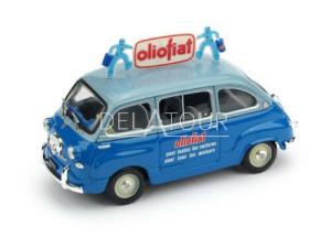 Fiat 600D Multipla Olio Fiat 1956 2 Tone Blue