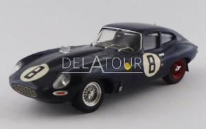 Jaguar E-Type Coupe #8 24H LeMans 1962