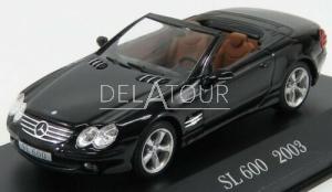 Mercedes-Benz SL-Class 600SL R230 2003 Black