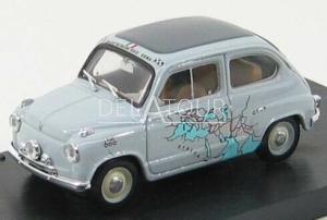 Fiat 600 Rally Raid Roma-Calcutta 1955