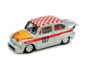 Fiat 600 Abarth 1000 #107 500km Nurburgring 1967