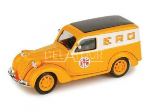 Fiat 1000 Van Furgone erg 1950 Orange