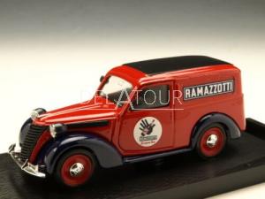 Fiat 1100 E Van Ramazzotti 1950 Red/Blue