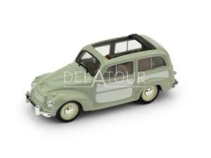 Fiat 500C Belevedere Open 1951 Green