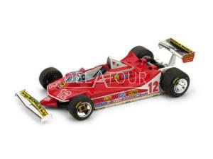 Ferrari 312T4 #12 G. Villeneuve 2e French GP 1979