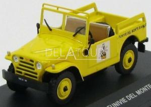 Fiat Campagnola Funive Del Monte 1963 Yellow