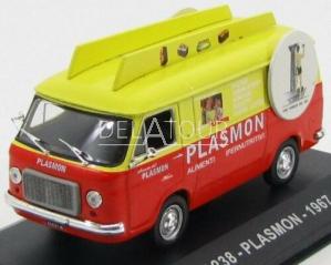 Fiat 238 Van Plasmon 1967 Orange/Yellow