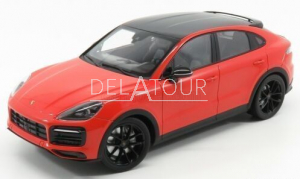 Porsche Cayenne S Coupe Red 2019