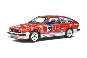 Alfa Romeo GTV6 #23 Rally Tour de Corse 1985