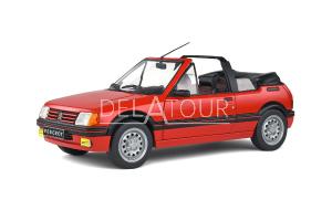 Peugeot 205 CTI MKI 1.6 Cabriolet 1989 Red