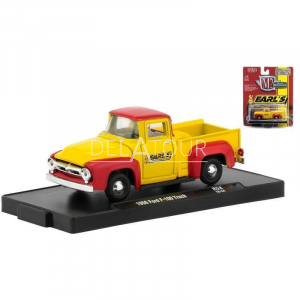 Ford F-100 Truck 1956 Yellow/Red